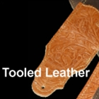 Tooled Leather Straps