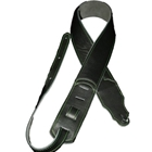 "Franklin Straps Original Series 2.5"" Glove Leather Black/Green Stitch"