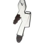 "Franklin Straps 2"" Natural Cotton/Chocolate End Tab"