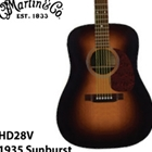 Martin HD-28V 1935 Sunburst Acoustic Guitar