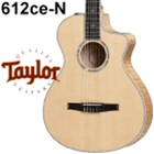 Taylor 612ce-N Classical Electric Guitar