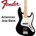Fender American Special Jazz Bass, Maple, Black