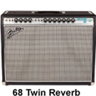 Fender '68 Twin Reverb Guitar Amp
