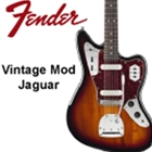 Fender Vintage Modified Jaguar, Rosewood Fingerboard, 3-Color Burst