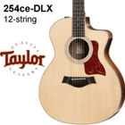 Taylor 254ce  DLX Acoustic Electric Guitar