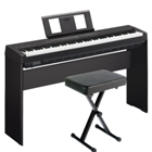 Yamaha P45B Bundle, Includes Bench and Stand