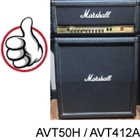 Marshall AVT50H and AVT512A Half Stack