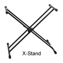 Stageline Double Braced Keyboard Stand