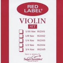 Super Sensitive Red Label Set Violin 4/4 Medium