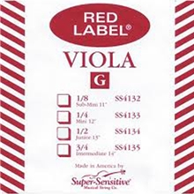 Super Sensitive Red Label Set Viola 4/4