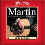 M140 Martin Bronze Light Guage Strings