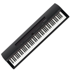 Yamaha P255B 88-Key Black Digital Piano with Sustain Pedal